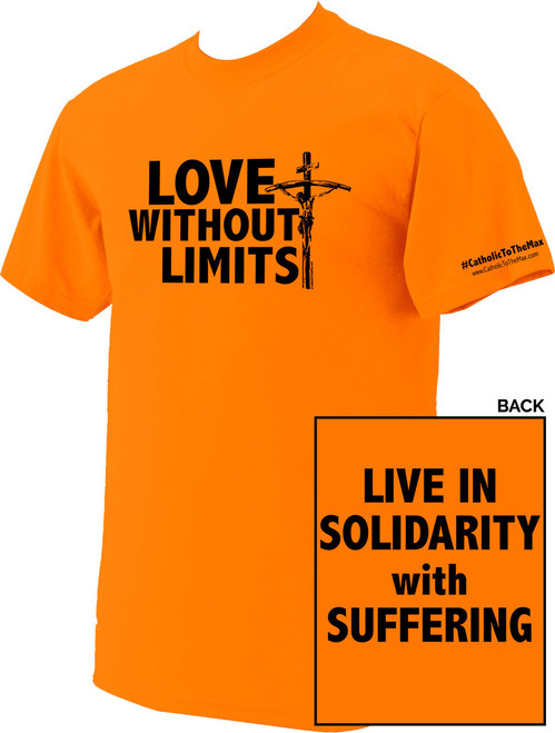 Love Without Limits Neon Orange T-Shirts