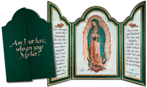 Our Lady of Guadalupe Tri-fold Triptych Cards