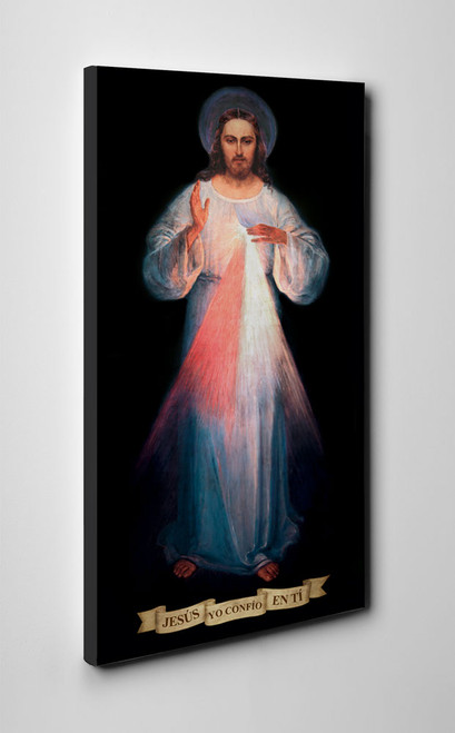 Spanish Vilnius Divine Mercy Gallery Wrapped Canvas
