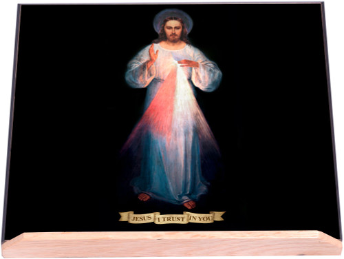Vilnius Divine Mercy Bible Stand