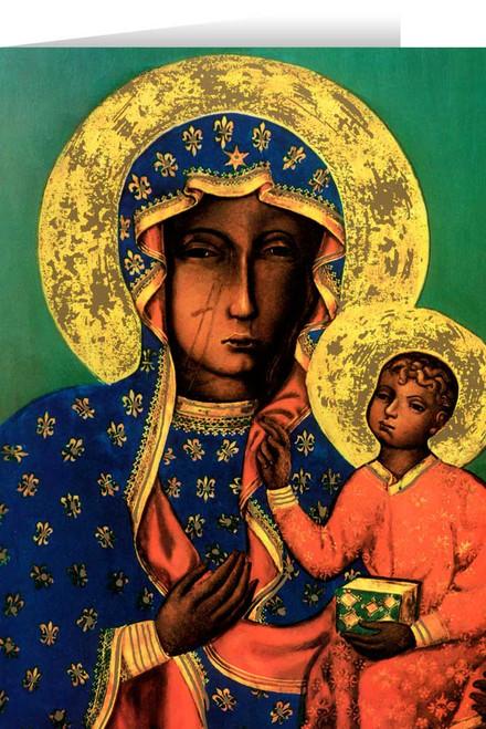 Our Lady of Czestochowa Greeting Card