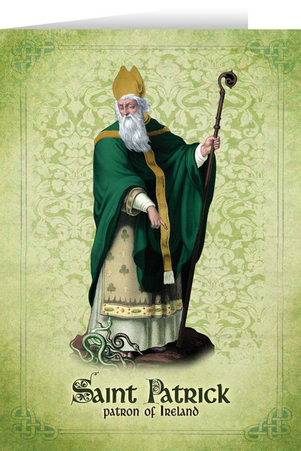St. Patrick Greeting Card