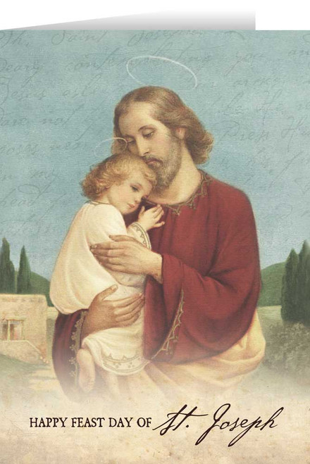 Feast of St. Joseph Greeting Card