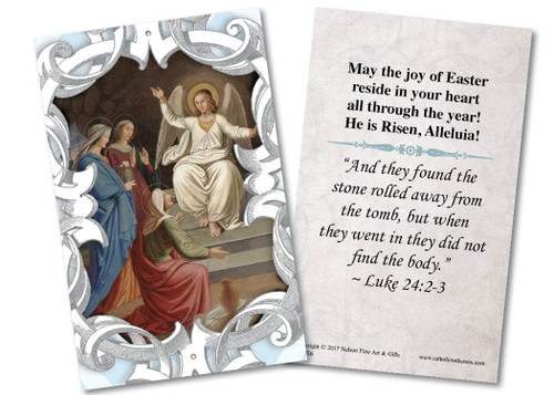 Women at the Tomb Holy Card