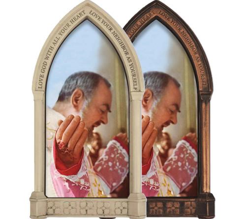 St. Padre Pio at Mass Home Doorpost Blessing