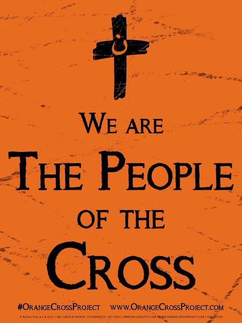 We are the People of the Cross Nazarene Solidarity Poster