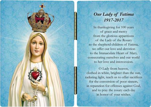 Fatima 100 Year Anniversary Diptych