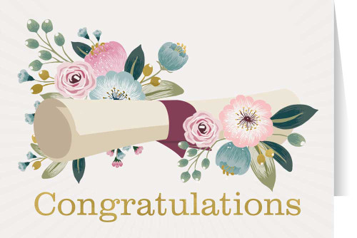 Congratulations Graduation Greeting Card