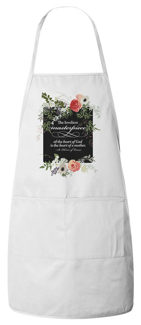 The Loveliest Masterpiece Apron (White)