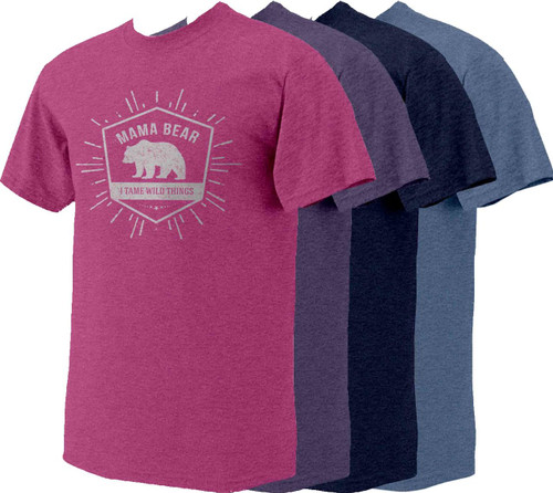 Mama Bear Heather T-Shirt