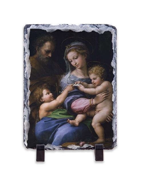 Madonna della Rosa Vertical Slate Tile