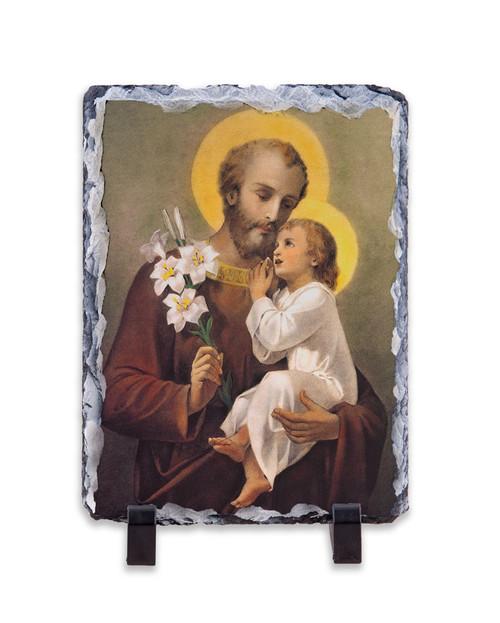 St. Joseph (Younger) Vertical Slate Tile
