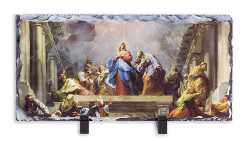 Coming of the Holy Spirit Horizontal Slate Tile