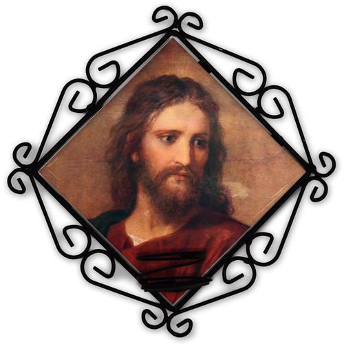 Christ at 33 Votive Candle Holder