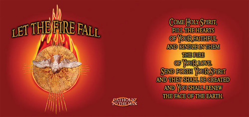 Holy Spirit Fire Red Mug