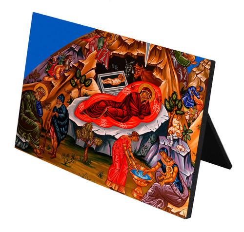 The Nativity Horizontal Desk Plaque