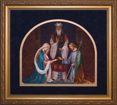 Wedding of Joseph and Mary Framed Image