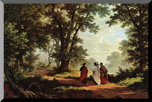 Road to Emmaus Wall Plaque