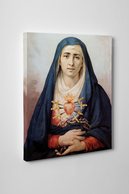 Our Lady of Sorrows Gallery Wrapped Canvas