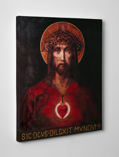 For God So Loved the World Gallery Wrapped Canvas