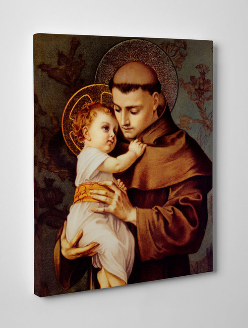 St. Anthony of Padua Gallery Wrapped Canvas