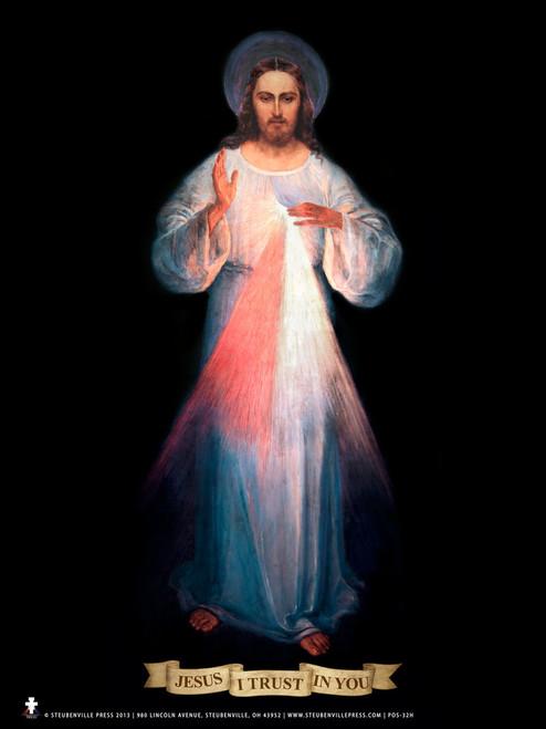 Vilnius Divine Mercy Poster
