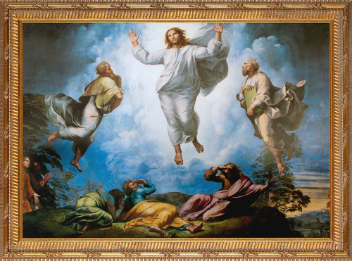 The Transfiguration by Raphael Church-Sized Canvas Art