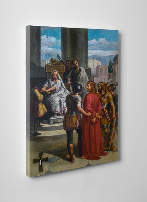 Bertucci Stations of the Cross Gallery Wrapped Canvas