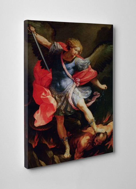 St. Michael Gallery Wrapped Canvas