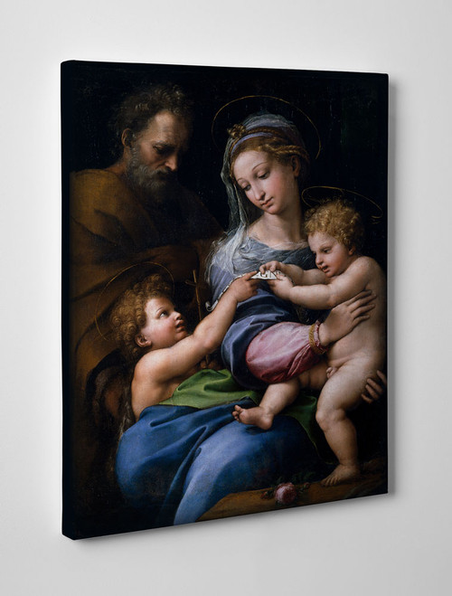 Madonna della Rosa Gallery Wrapped Canvas