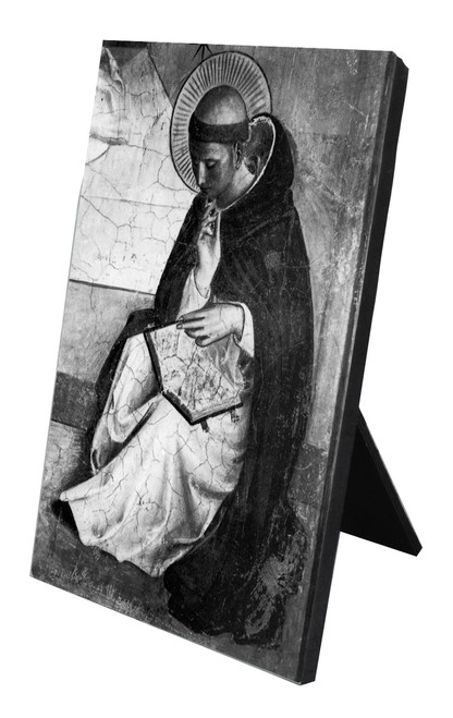 St. Dominic Vertical Desk Plaque