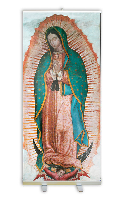 Our Lady of Guadalupe Banner Stand