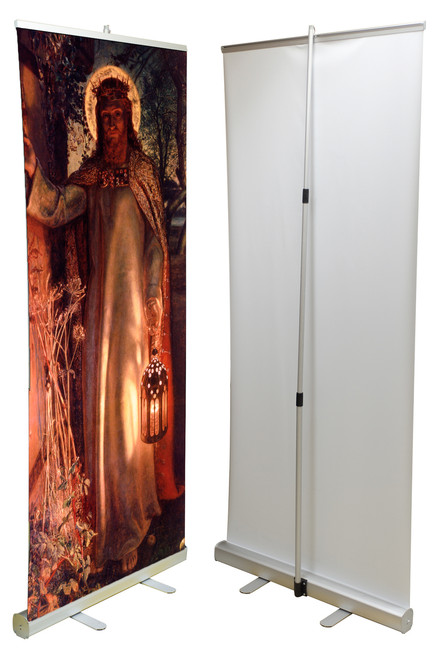 Light of the World Banner Stand