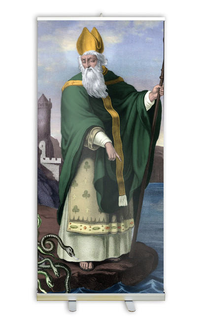 St. Patrick Banner Stand