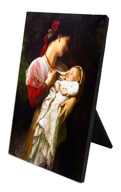 Maternal Admiration Vertical Desk Plaque