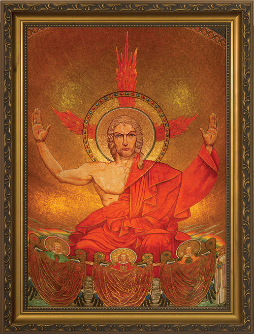 Christ in Majesty Framed Art