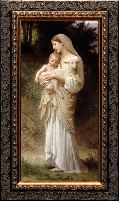 L'Innocence - Ornate Dark Framed Art