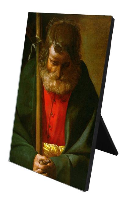 St. Philip Vertical Desk Plaque