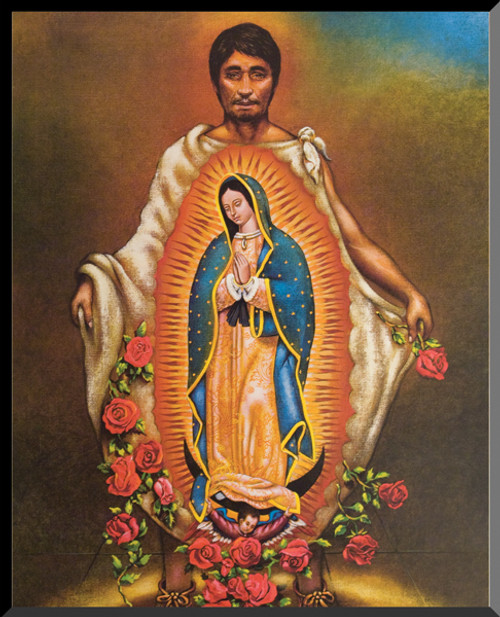 Juan Diego Wall Plaque