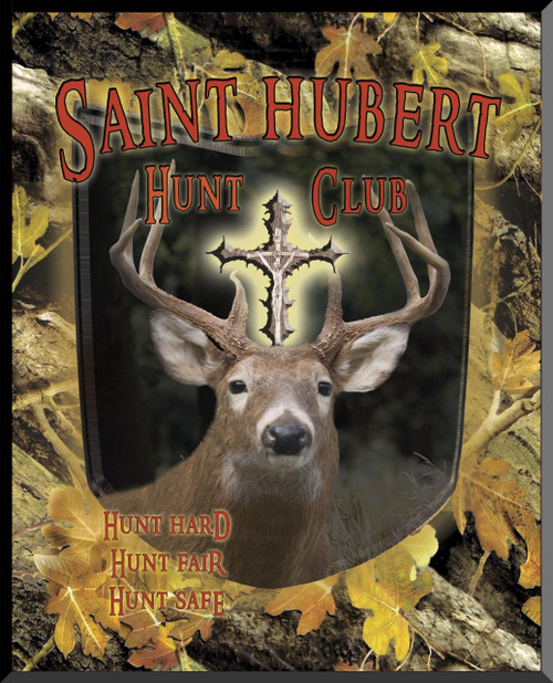 St. Hubert Hunt Club Wall Plaque