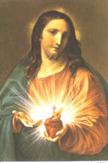 Sacred Heart of Christ Poster