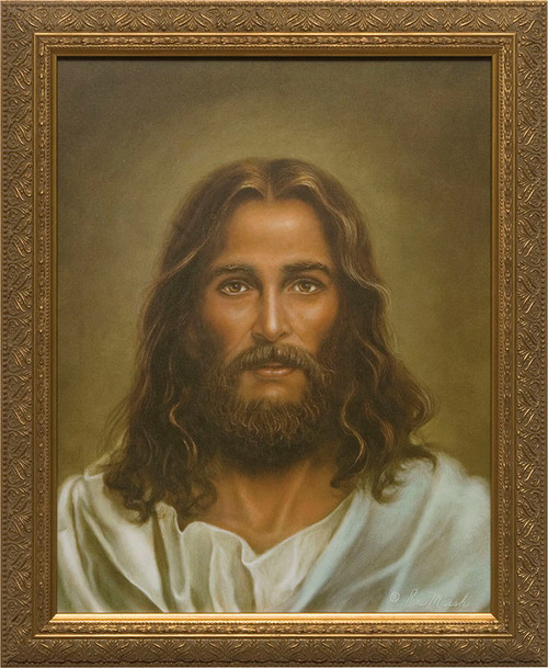 Modern Christ Painting Framed Art