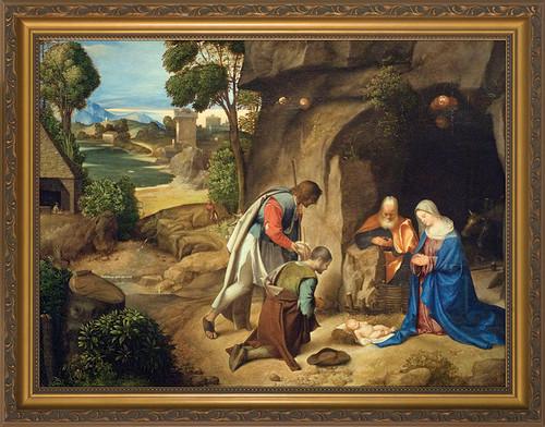 Adoration of the Shepherds Framed Art