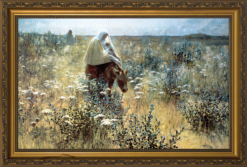 Flight Into Egypt By Hitchcock Framed Art Catholic To