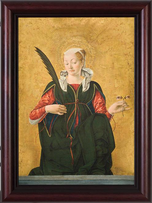 St. Lucy Framed Art