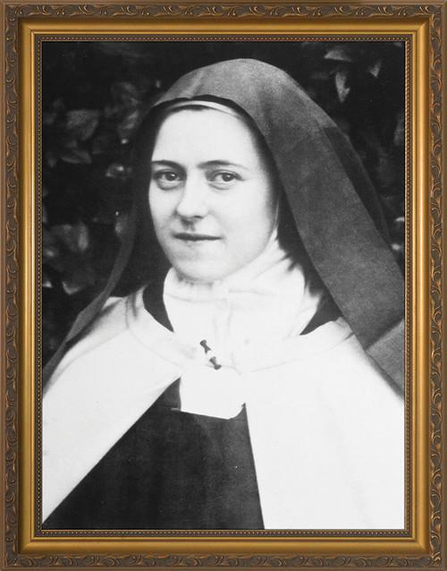 St. Thérèse (Portrait) Framed Art