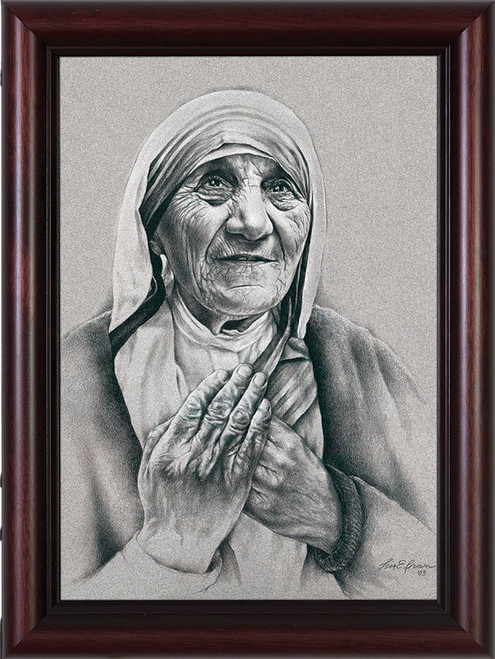 Mother Teresa by Lisa Brown Framed Art