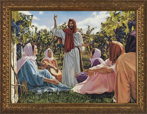 Proclamation of the Kingdom - Gold Framed Art
