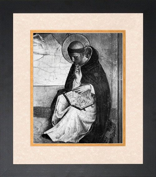 St. Dominic Framed Art