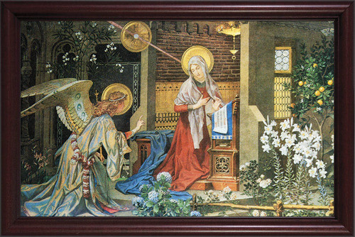 Annunciation of St. Gabriel Framed Art